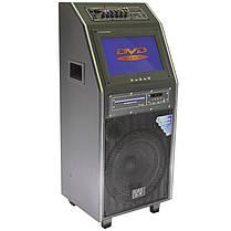 """☛Акустическая система LAV PA-212 300W с экраном микрофон динамик 12"""" Bluetooth USB/SD/MMC FM вход под гитару, фото 2"""