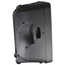 ✸Акустическая система LAV PA-500 500W колонка с микрофоном Bluetooth USB/SD/MMC MP3/WMA разъем под гитару, фото 2