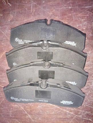 Колодки тормозные передние. 60С Е3, фото 2