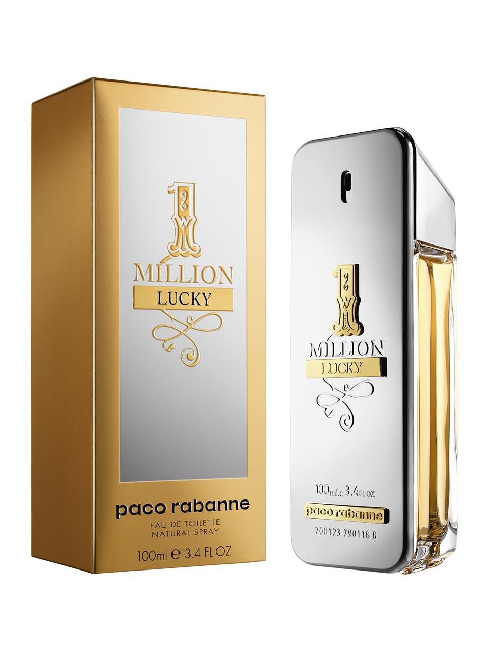 Paco Rabanne 1 Million Lucky туалетная вода 100 ml. (Пако Рабан 1 Миллион Лаки)