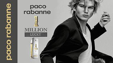 Paco Rabanne 1 Million Lucky туалетная вода 100 ml. (Пако Рабан 1 Миллион Лаки), фото 2