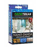 Нанопокриття для душових кабін, скла і кераміки NanoTekas | NANO DANGA (60 мл)