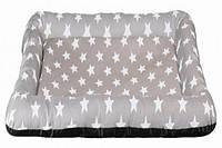 """Trixie (Трикси) Коврик """"Stars"""" со звездами, 80 × 55 см, бежевый, текстиль"""