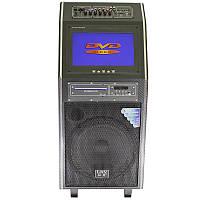 """☀Акустическая система LAV PA-212 300Вт 2 микрофона пульт 12-дюймовый дисплей USB/SD/Bluetooth динамик 12"""""""