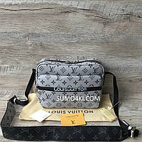 Сумка унисекс Louis Vuitton Messenger в трёх расцветках, фото 1