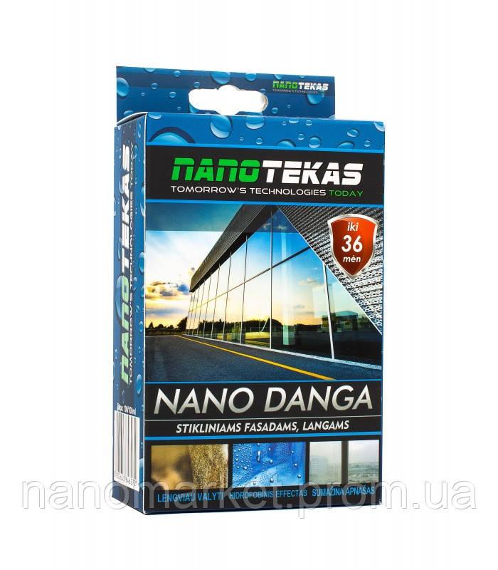 Гідрофобне покриття для фасадного скла NanoTekas 100мл