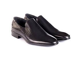 Туфлі Etor 12855-377 чорні