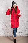 Зимнее пальто для девушек сезона 2018-2019 - (модель кт-345), фото 9