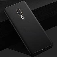 Чехол Meizu 15 Plus 5.95'' силикон soft touch бампер черный