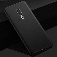 "Чохол Meizu 15 Plus 5.95"" силікон soft touch бампер чорний"