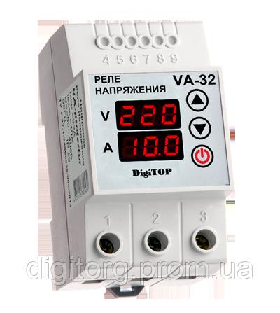 Реле напряжения с контролем тока VA-63А