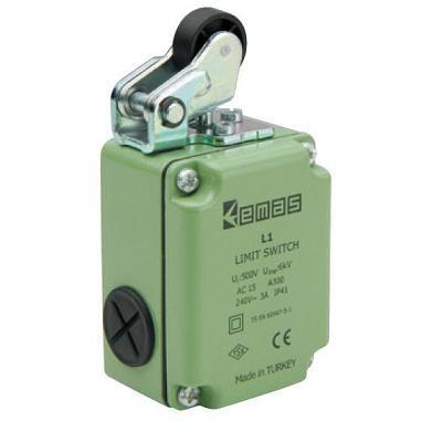 Выключатель концевой с металлической консолью и пластиковым роликом d=20mm (1НО+1НЗ)