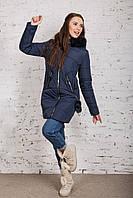 Зимняя женская куртка с экомехом - (модель кт-344), фото 1