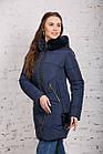 Зимняя женская куртка с экомехом - (модель кт-344), фото 3