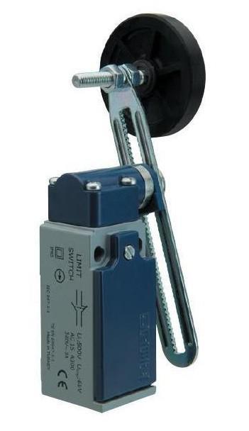 Выключатель концевой с резиновым роликом d=50mm и возможностью регулировки высоты (1НО+1НЗ)
