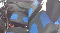 Чехлы сидений Таврия, Славута с синими вставками