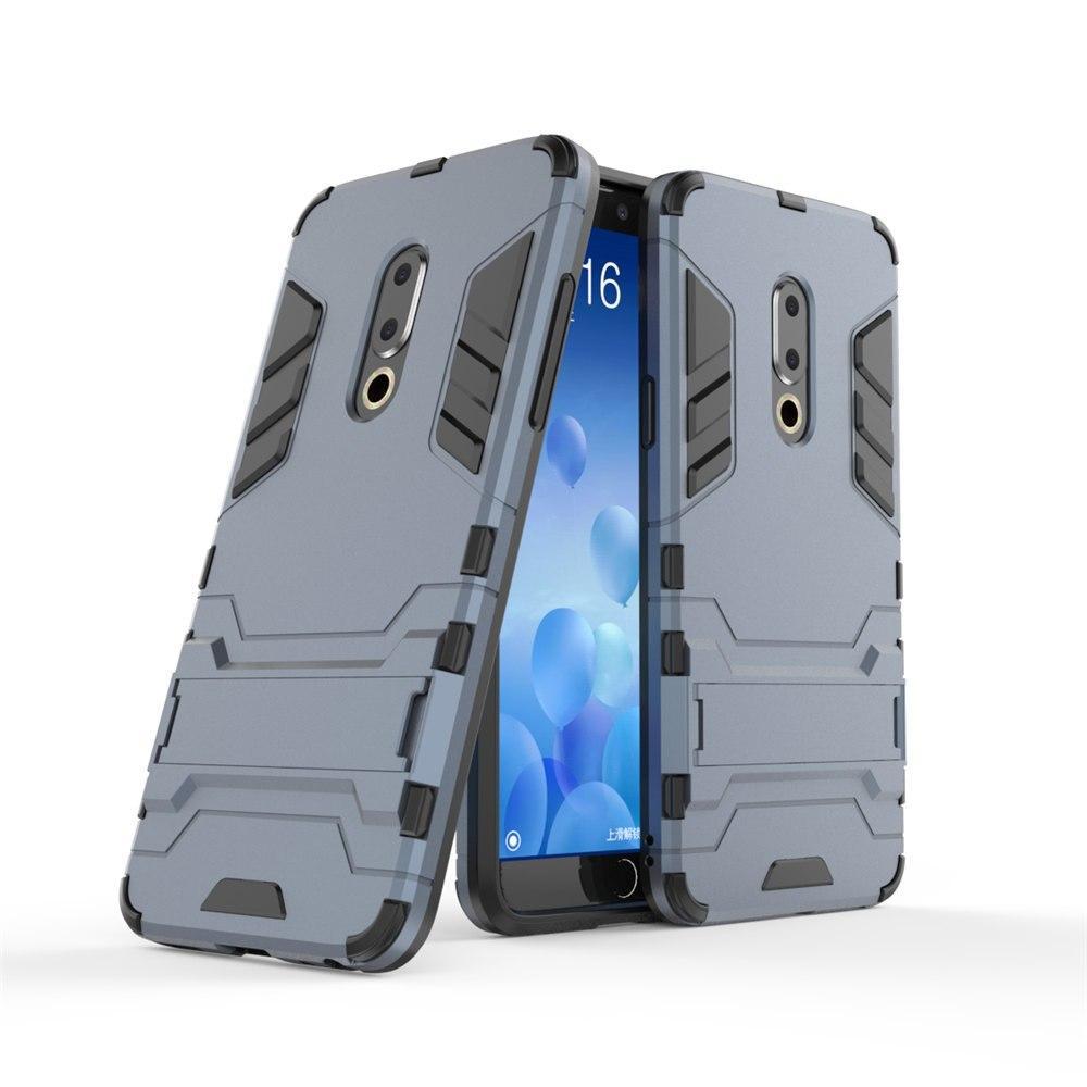 Чехол Meizu 15 Plus 5.95'' Hybrid Armored Case темно-синий