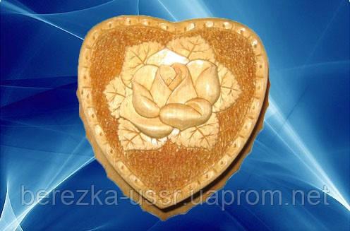 Купить шкатулку в Киеве сердечко