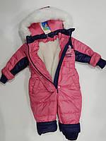 Комбинензон зимний на овчине для девочки ТМ Бемби, фото 1