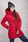 Женская куртка с экомехом на зиму модель 2019 - (модель кт-354), фото 8