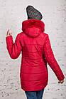 Женская куртка с экомехом на зиму модель 2019 - (модель кт-354), фото 9