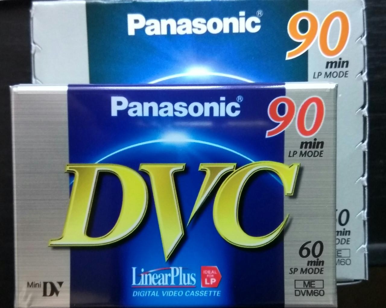 Видеокассета  Panasonic mdv 60