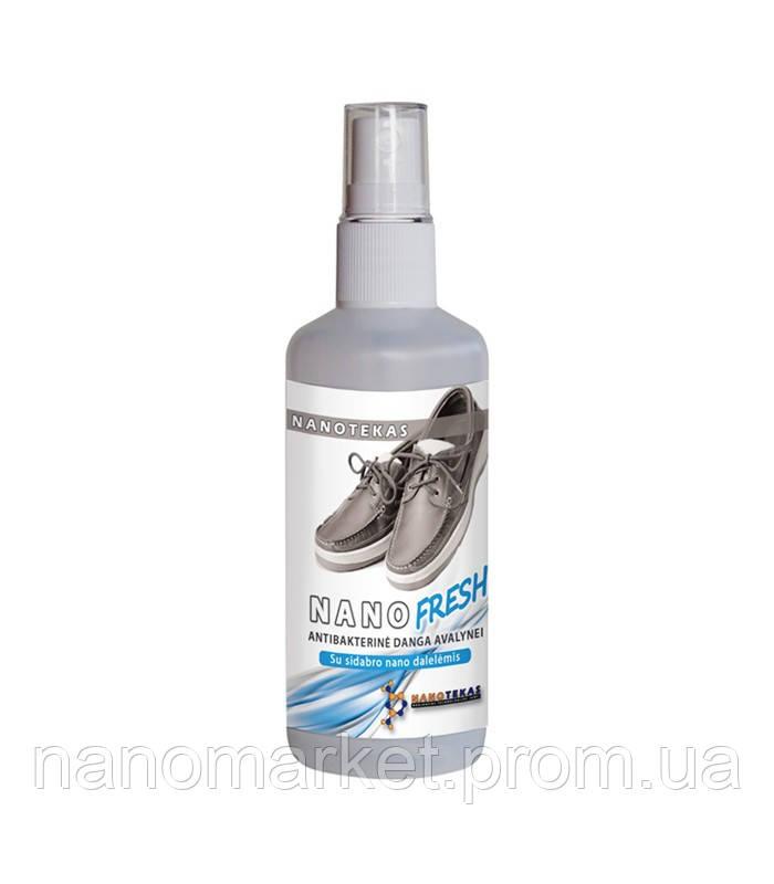 Антибактеріальний дезодорант для взуття NanoTekas 100мл