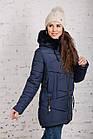 Женская куртка с экомехом на зиму модель 2019 - (модель кт-358), фото 4