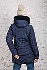 Женская куртка с экомехом на зиму модель 2019 - (модель кт-358), фото 6