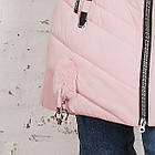 Женская зимняя куртка с экомехом на модель 2019 - (модель кт-359), фото 2