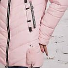 Женская зимняя куртка с экомехом на модель 2019 - (модель кт-359), фото 3