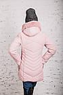 Женская зимняя куртка с экомехом на модель 2019 - (модель кт-359), фото 5