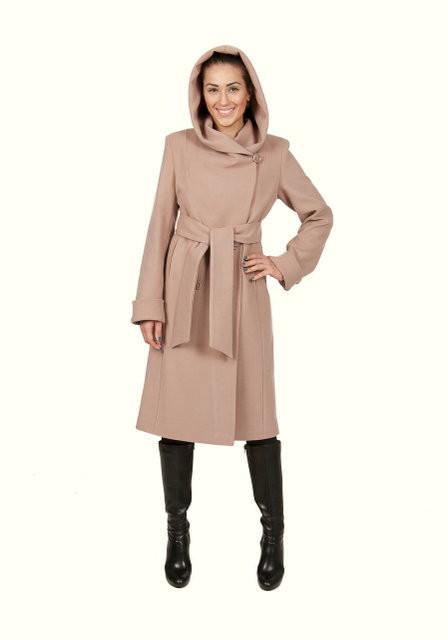 Осеннее пальто из кашемира купить Д308