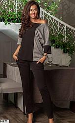 Женский брючный костюм демисезонный размеры 42,44,46,48,50,52,54,56,58