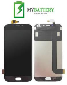 Дисплей (LCD) Doogee X9/X9 Pro с сенсором черный