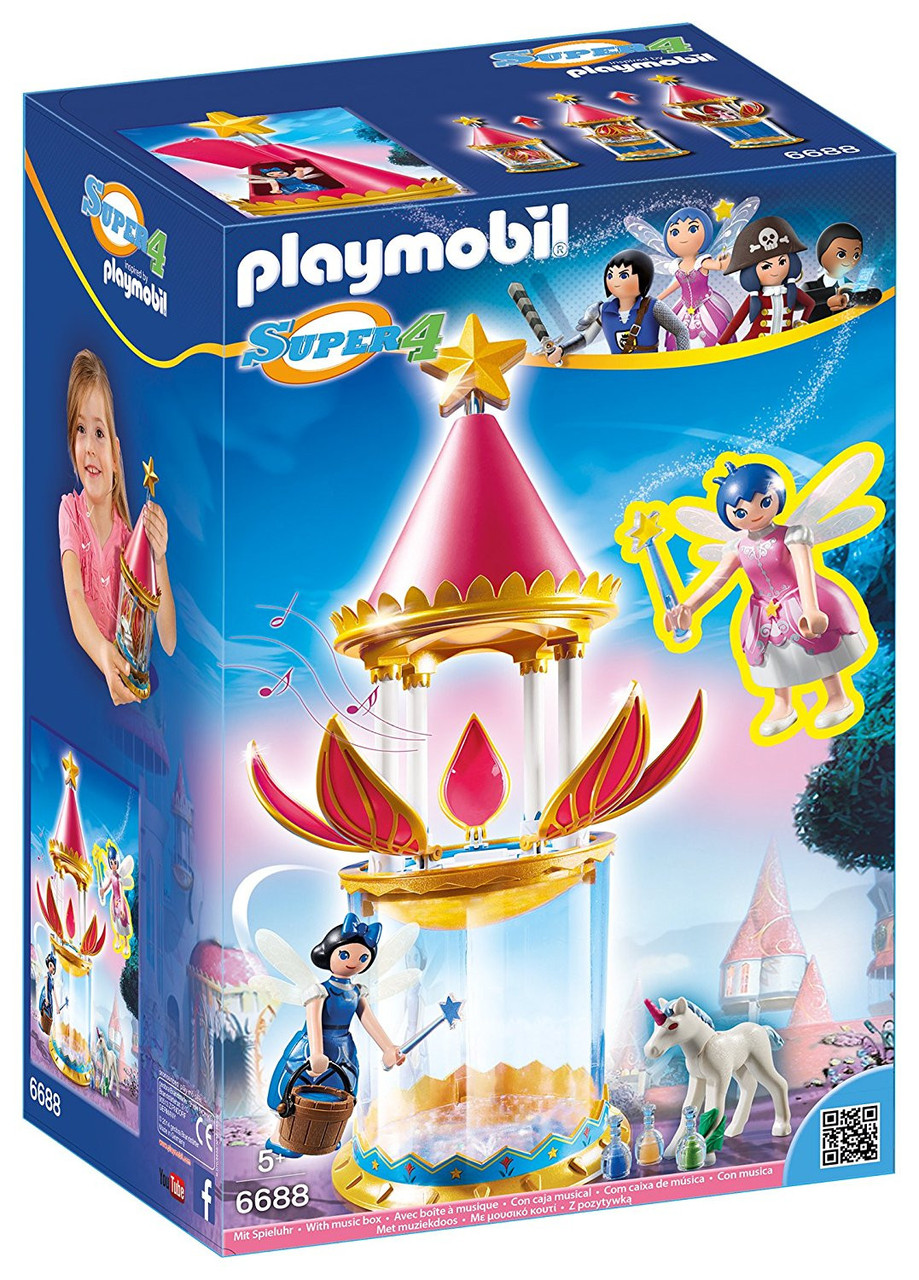 Playmobil 6688 Музична квіткова миготлива вежа Musical Flower Tower  with Twinkle and Donella Super 4