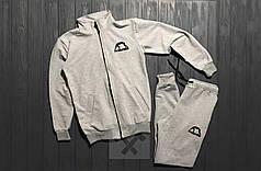 Спортивный костюм на молнии Manto серый топ реплика