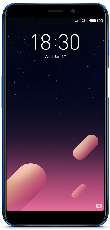 Смартфон Meizu M6s 3/32 GB Global Version Blue 12 мес.гарантия / 3 мес.