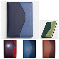 Ежедневник A5, датированный, обложка 'Комби', Winner, белый блок, фото 1