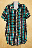 Рубашка - халат штапельный, фото 6