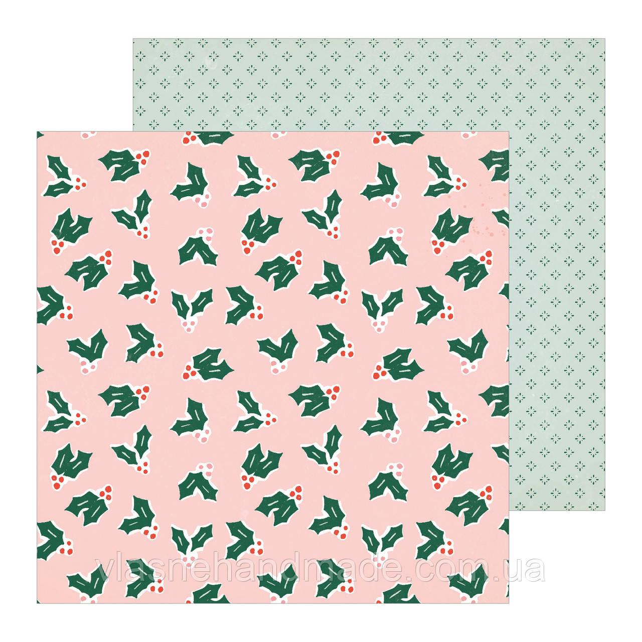Папір двосторонній -  MERRILY -  Merry Days - Crate Paper - 30х30