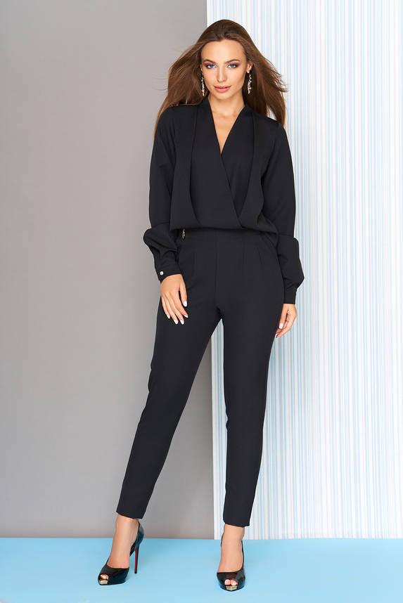 Комбинезон с длинными рукавами черный, фото 2