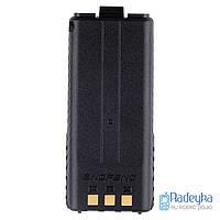 Усиленная аккумуляторная батарея Baofeng 3800Mah для рации Baofeng UV-5R Усилений акумулятор для Baofeng UV5R