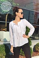 Блузка женская Стильная белая