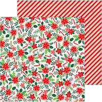 Папір двосторонній - Fa La La La - Cozy & Bright - Pebbles - 30х30