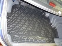 Коврик в багажник для Geely FK (Vision) (08-) полиуретановый 125010101