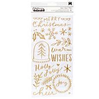 Фрази паф -Merry Days - Crate Paper