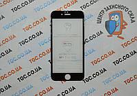 Защитное стекло 5D (монолит) для iPhone 6/6s Black