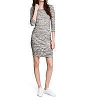 Платье H&M М Серый (16766)