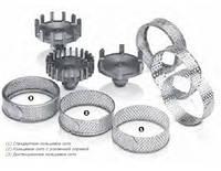 Дистанционные сита из нержавеющей стали, для ультрацентробежной роторной мельницы ZM 200 Retsch